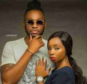 BBNaija: Loved Up Photo Of Teddy-A And Bambam